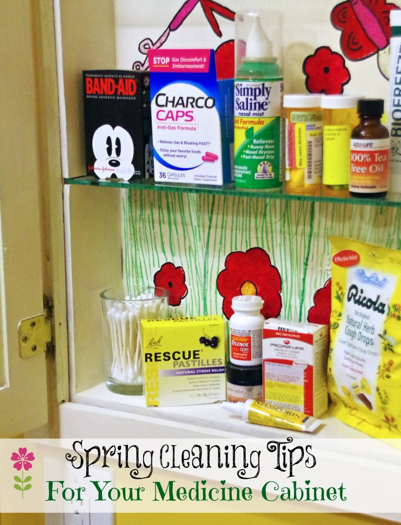 Spring Cleaning Tips for the Medicine Cabinet 2