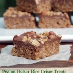 Healthier No Bake Cookie Recipe: Peanut Butter Rice Crispy Treats