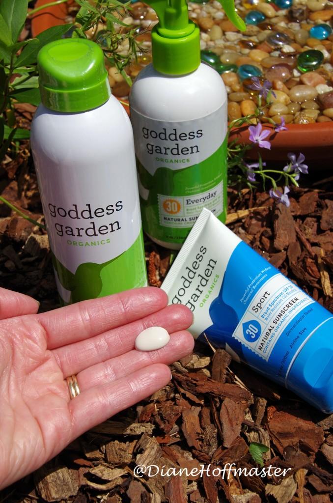 Goddess Garden Safe Sunscreen Review #SunSafeGoddess