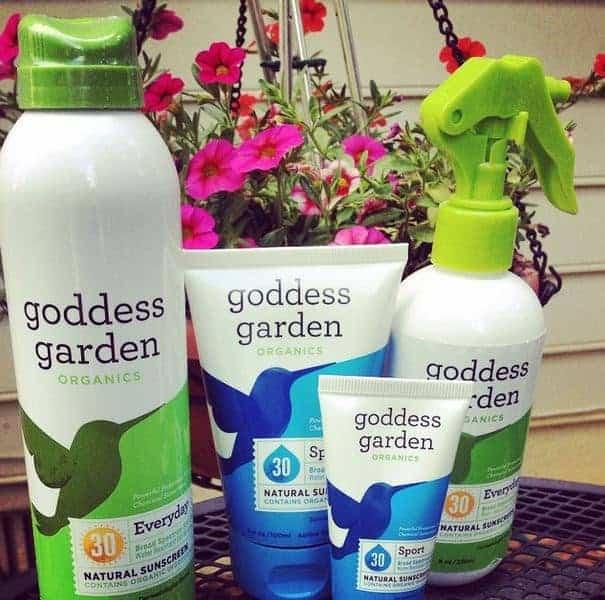 Goddess Garden Safe Sunscreen #SunSafeGoddess