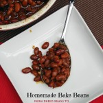 How to Make Real New England Style Homemade Baked Beans