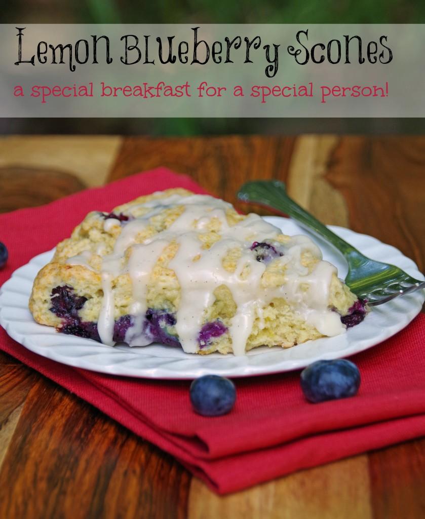 Lemon Blueberry Scone Recipe 2