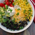 Vegetarian Recipe Burrito Rice Bowl 2