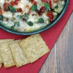Baked Brie Appetizer Recipe with Sundried Tomatoes and Italian Herbs