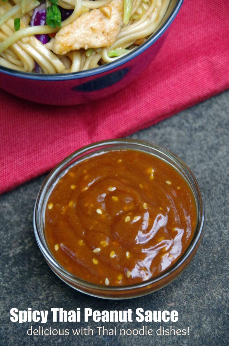 Spicy Thai Peanut Sauce Recipe
