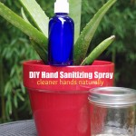 DIY Hand Sanitizer Spray with Aloe and Essential Oils