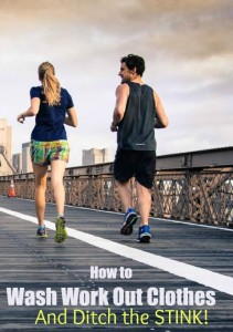 How to Wash Workout Clothes and Ditch the Stink!