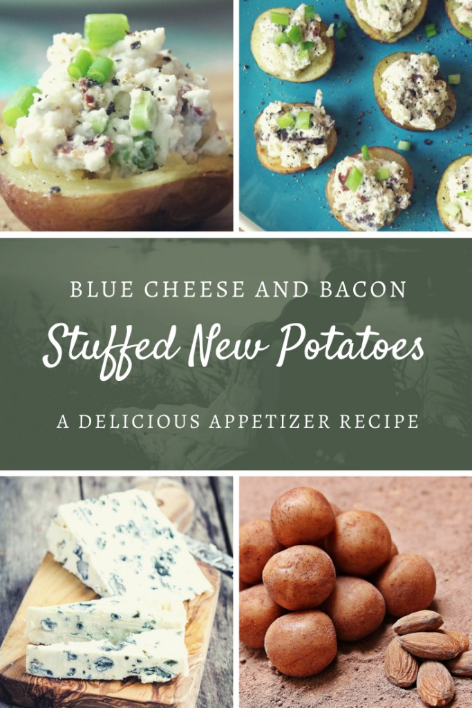 Blue Cheese and Bacon Stuffed Red Potatoes