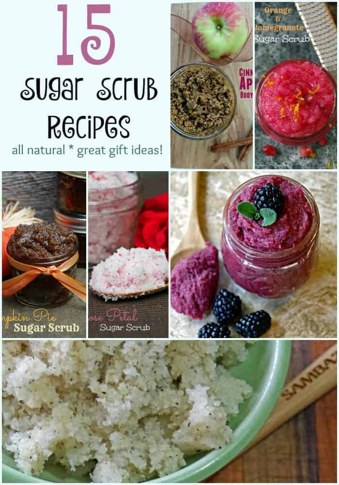 Natural Sugar Scrub Recipes