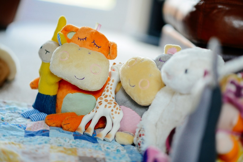 Second hand stuffed animals