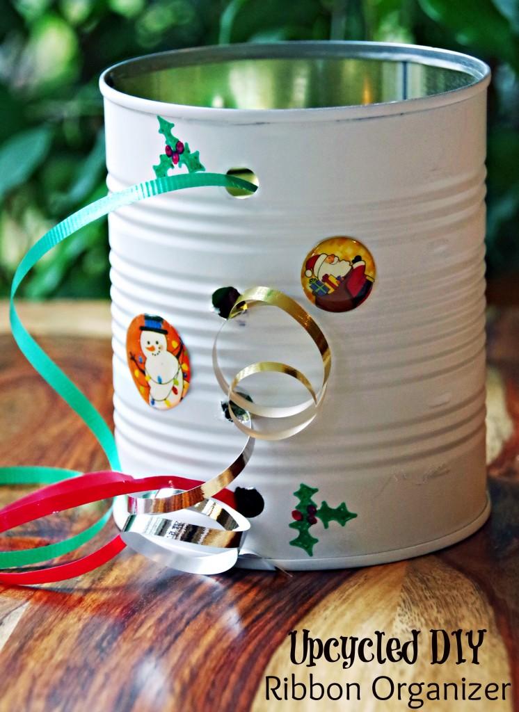 Homemade DIY Ribbon Organizer Final
