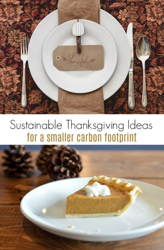 Sustainable Thanksgiving Ideas for a Smaller Carbon Footpring