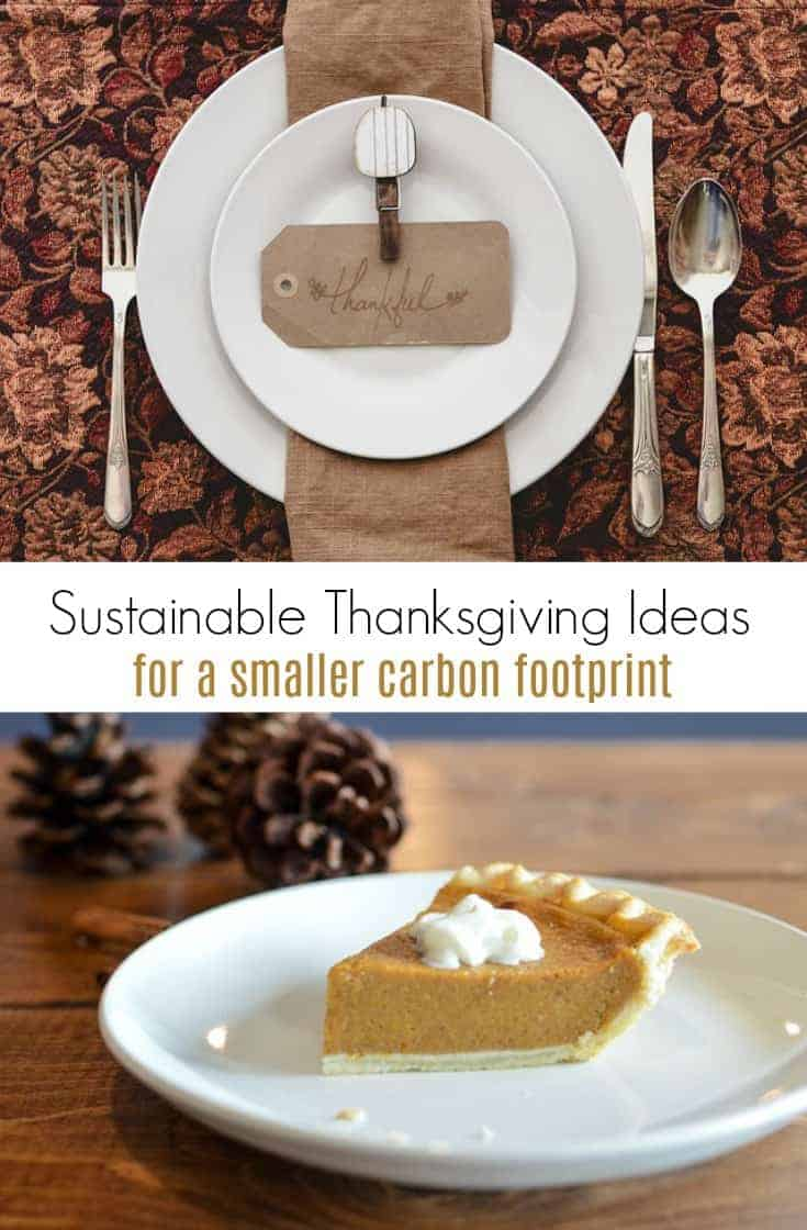 Want an eco friendly Thanksgiving this year? Here are a few green Thanksgiving tips that might help. It's a great start to a sustainable holiday season!