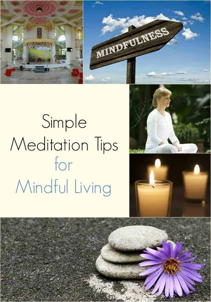 Simple Meditation Tips for Mindful Living