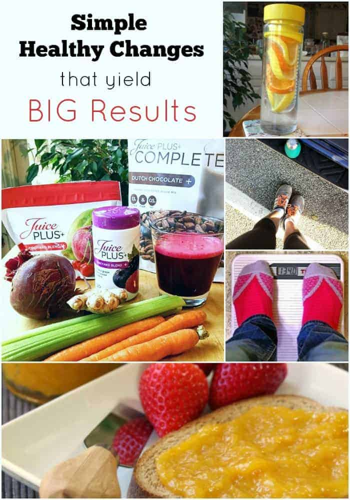 Simple Healthy Changes That Yield Big Results