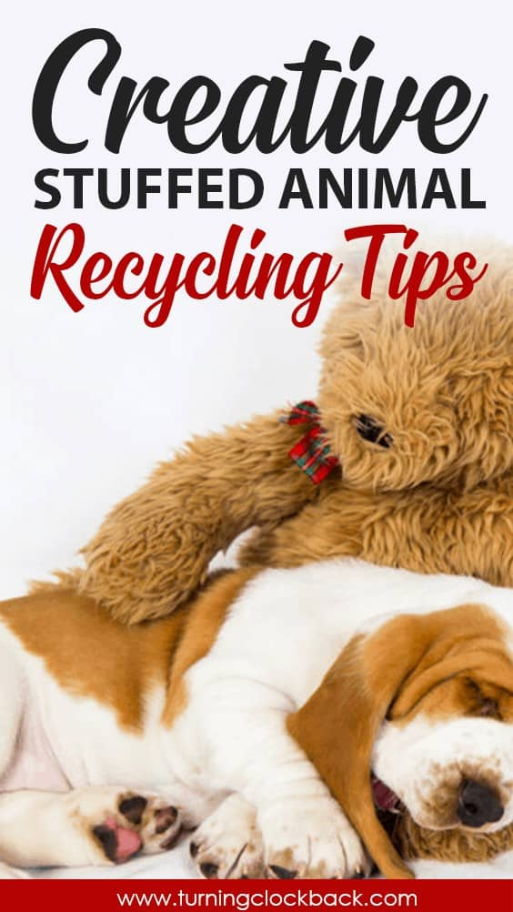 What to do with old stuffed animals