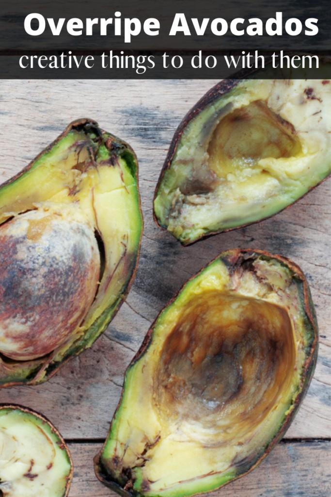 Have Overripe Avocados_ Creative things to do with them