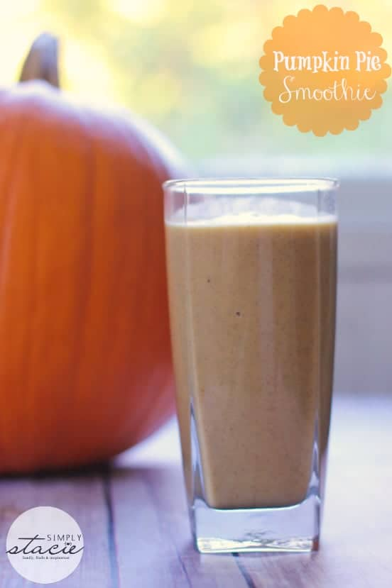 Pumpkin Pie Avocado smoothie recipe