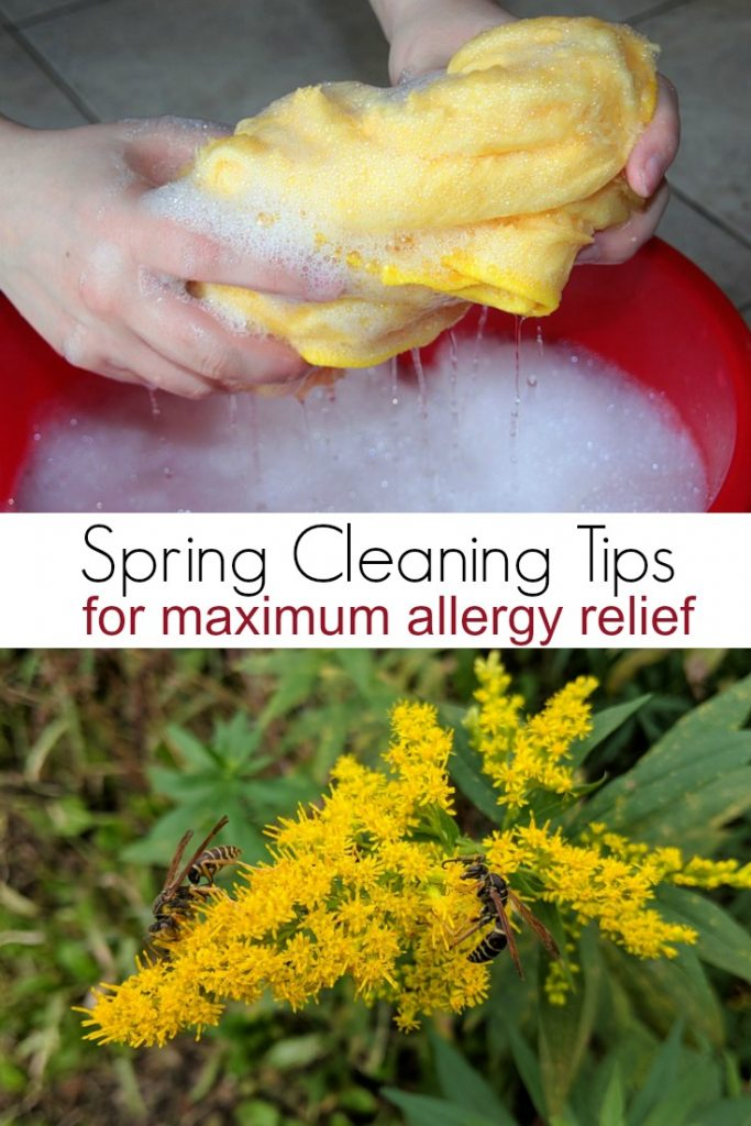 Spring Cleaning Tips for Maximum Allergy Relief