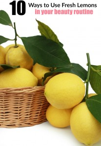 Ways to Use Fresh Lemons in Beauty Routines
