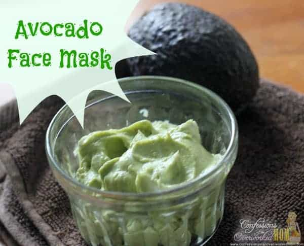Avocado Face Mask and What to do with Over Ripe Avocados