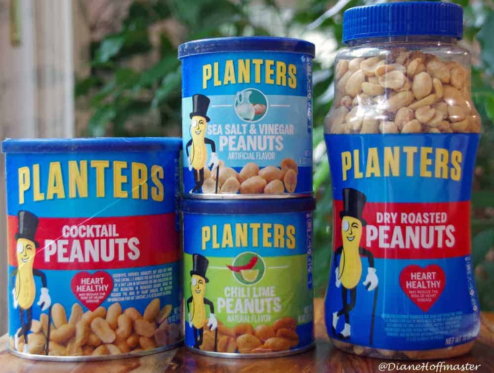 Planters Peanuts and a Sweet Salty Trail Mix Recipe
