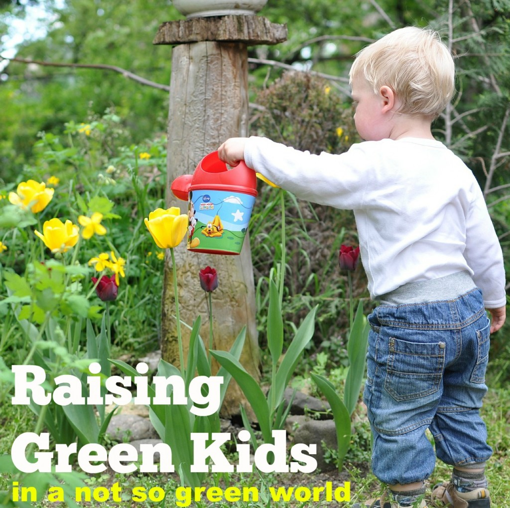 Raising Green Kids in a Not So Green World