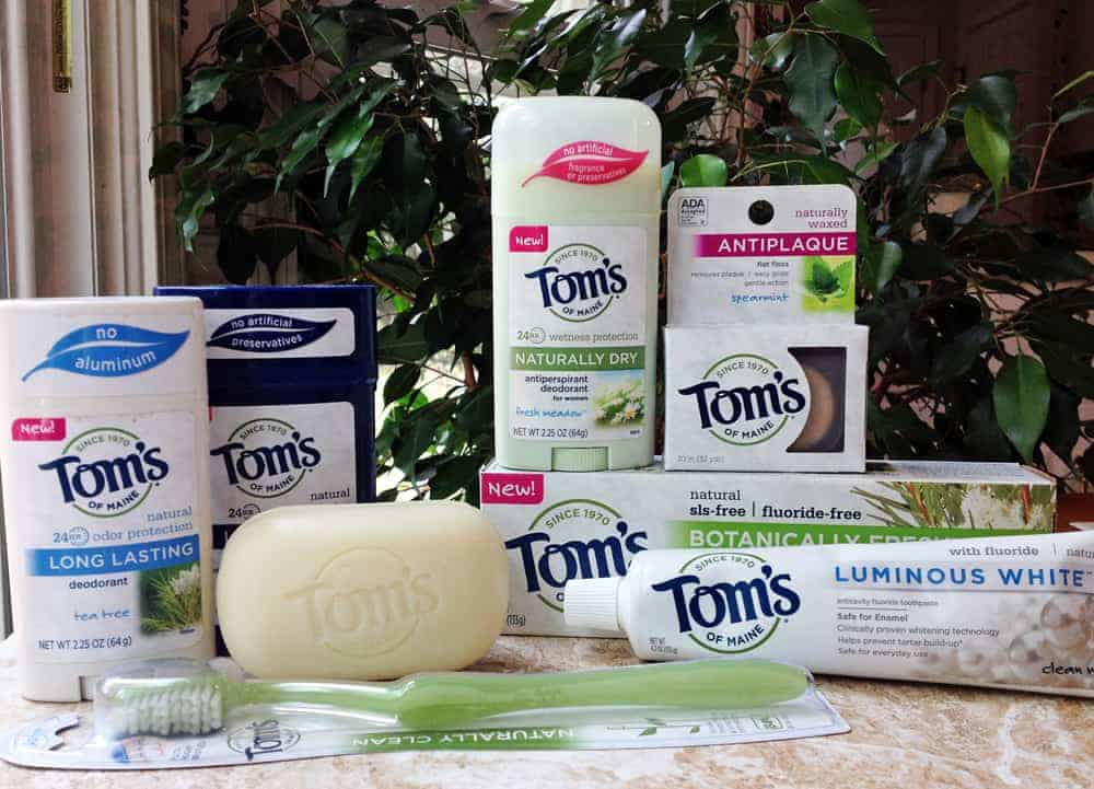 Toms of Maine Natural Body Care Products