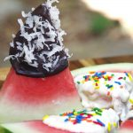 Easy Dessert Recipe Chocolate Dipped Watermelon Recipe