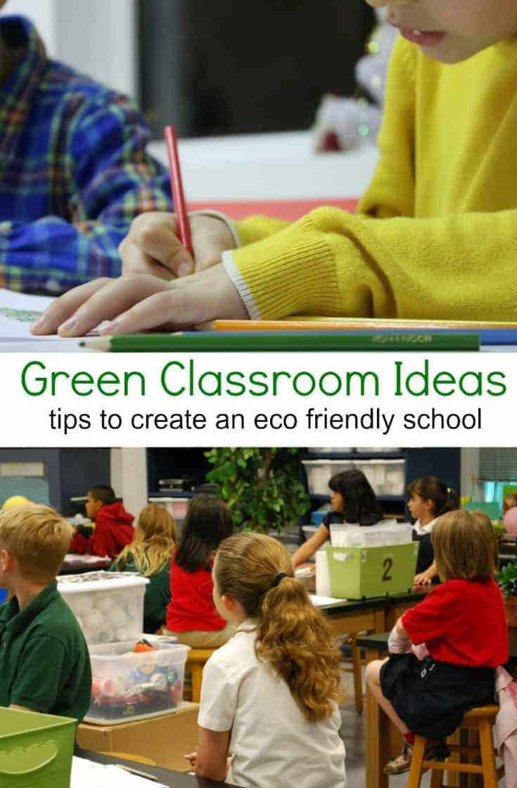 Want more environmentally friendly schools?  YOU can help play a part in creating them! Check out these eco friendly school ideas and get started on your green mission!