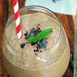 Mint Chocolate Chip Healthy Protein Smoothies