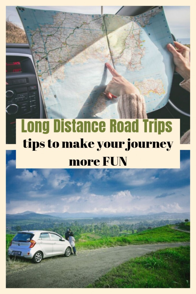 Hitting the road for long distance travel? No matter where you're headed, these easy car traveling tips will make long distance road trips more fun!