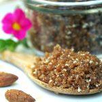 Honey and Almond Brown Sugar Scrub Recipe