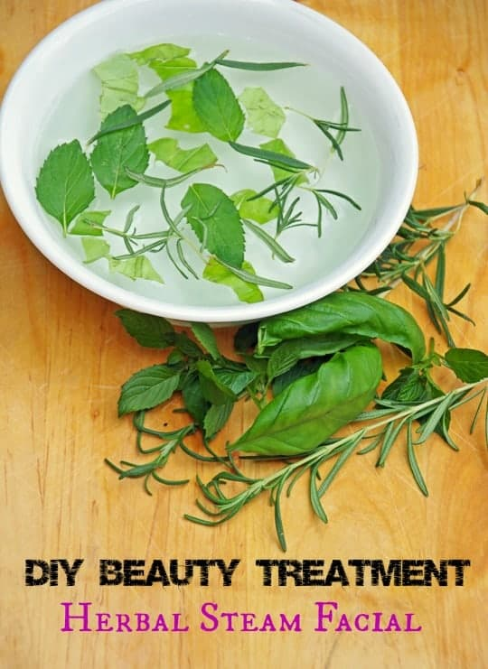 Herbal Steam Facial and Creative Uses for Lemon Balm