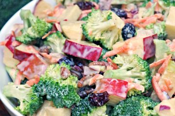 Creamy Broccoli Apple Salad Recipe