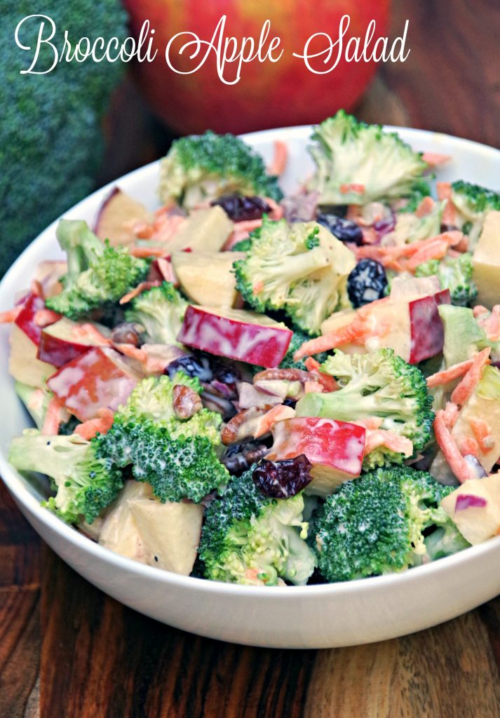 Easy Broccoli Apple Salad Recipe