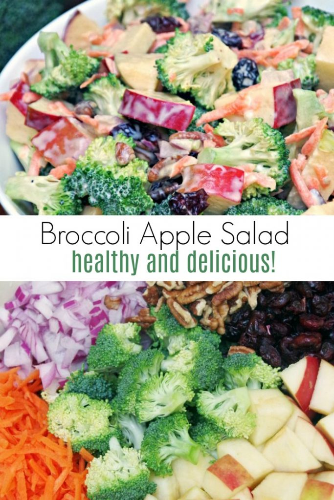 Easy and Healthy Broccoli Apple Salad Recipe