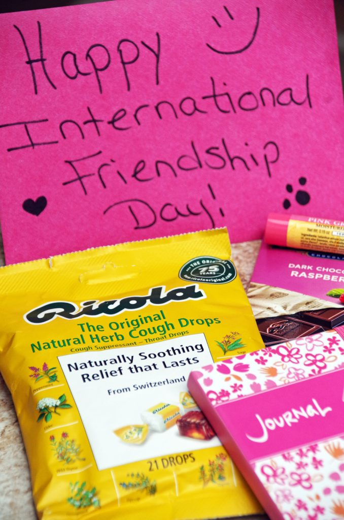 International Friendship Day and Ricola Throat Drops