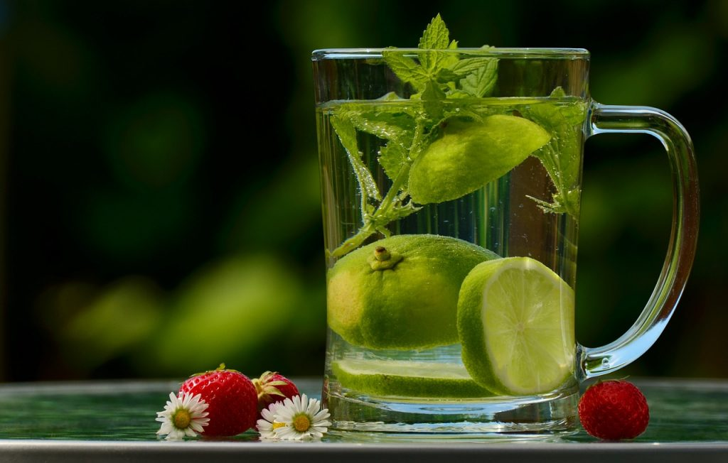 Detox water and Creative Uses for Lemon Balm