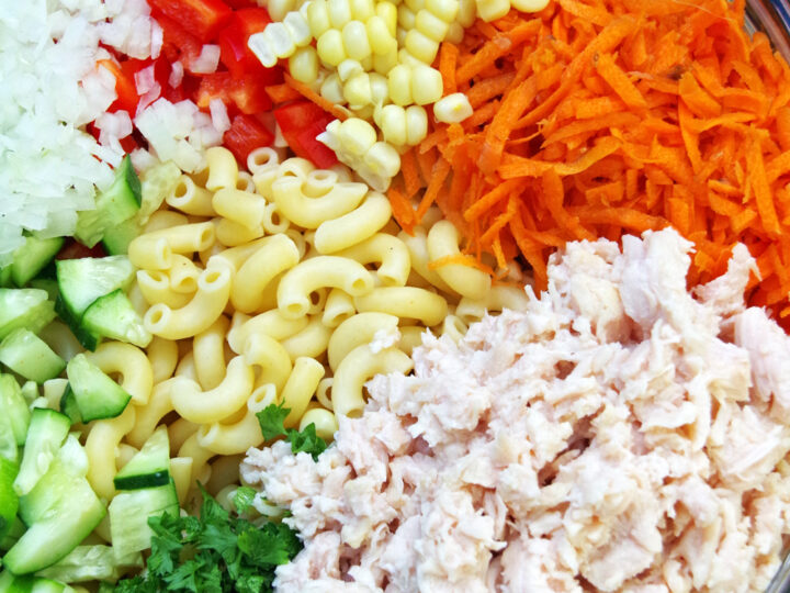 Cold Chicken Pasta Salad Recipe Turning The Clock Back