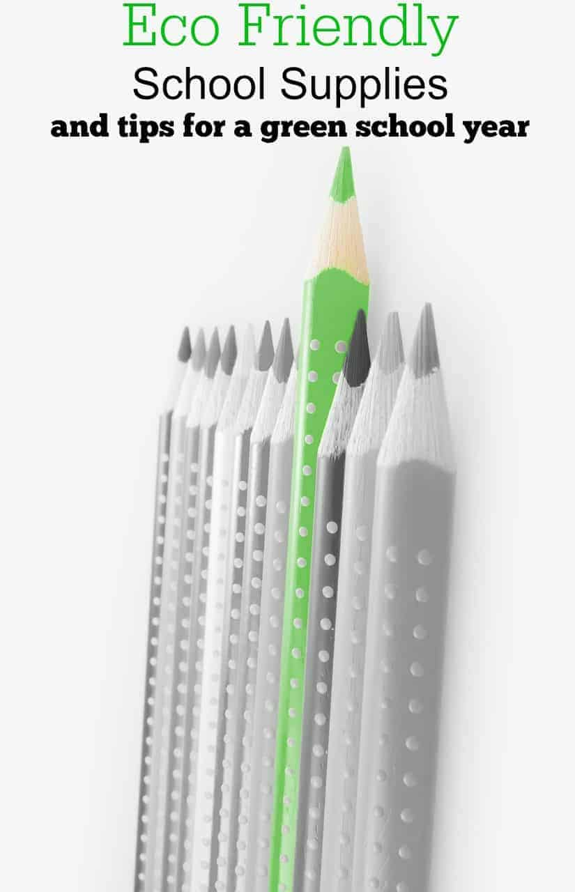 Eco Friendly School Supplies And Green School Tips