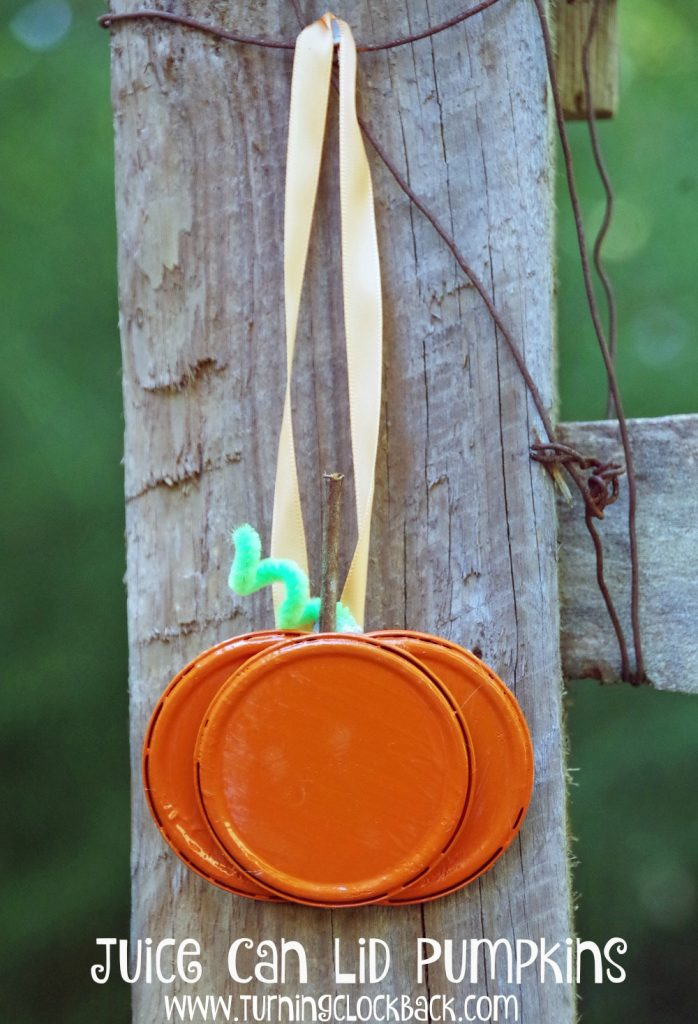 easy-pumpkin-craft-idea-with-juice-can-lids-7