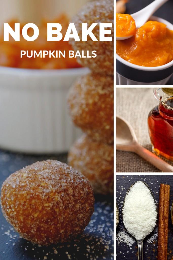 No Bake Pumpkin Balls are a healthy pumpkin dessert you will love!