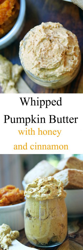 Whipped Pumpkin Butter with Honey and Cinnamon