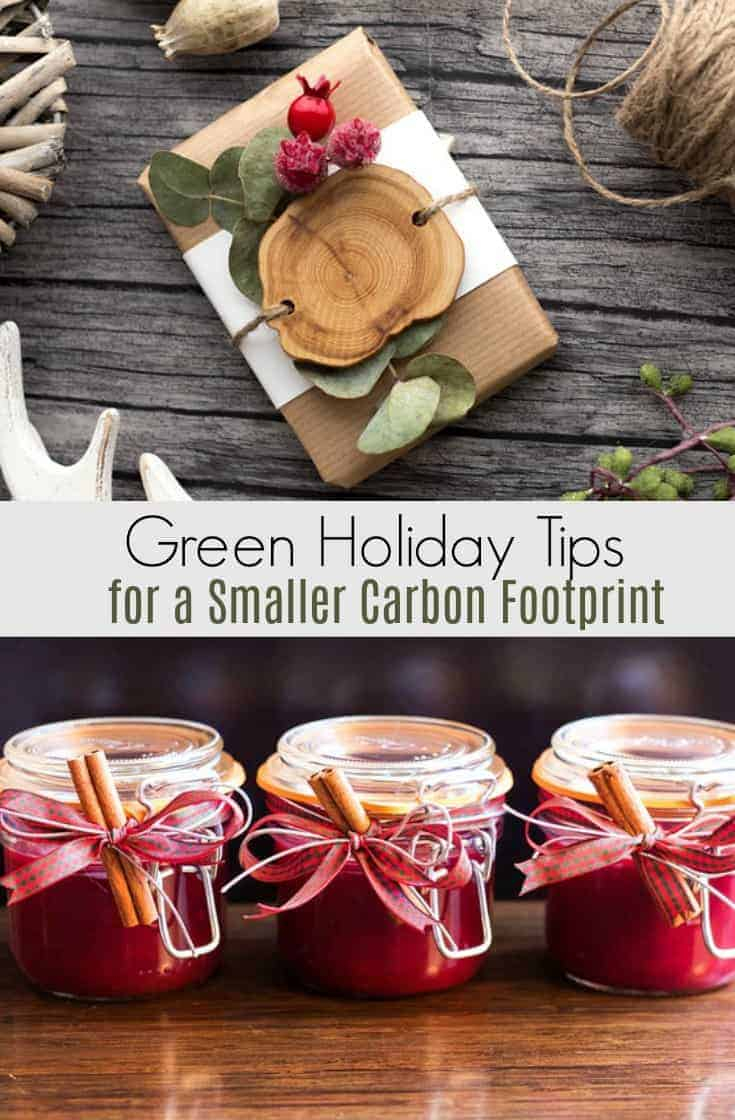 Looking to tread more lightly on the planet this holiday season?  Start searching now for green holiday tips because a sustainable Christmas can reduce your carbon footprint!