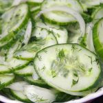 German Cucumber Salad Recipe – Gurkensalat