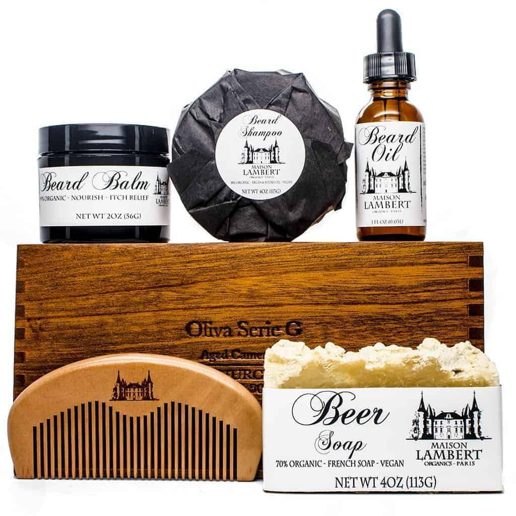 organic beard kit