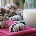 Easy Chocolate Crinkles Christmas Cookie Recipe