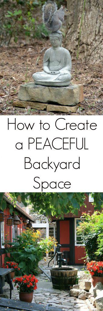 Creating a Peaceful Backyard Space