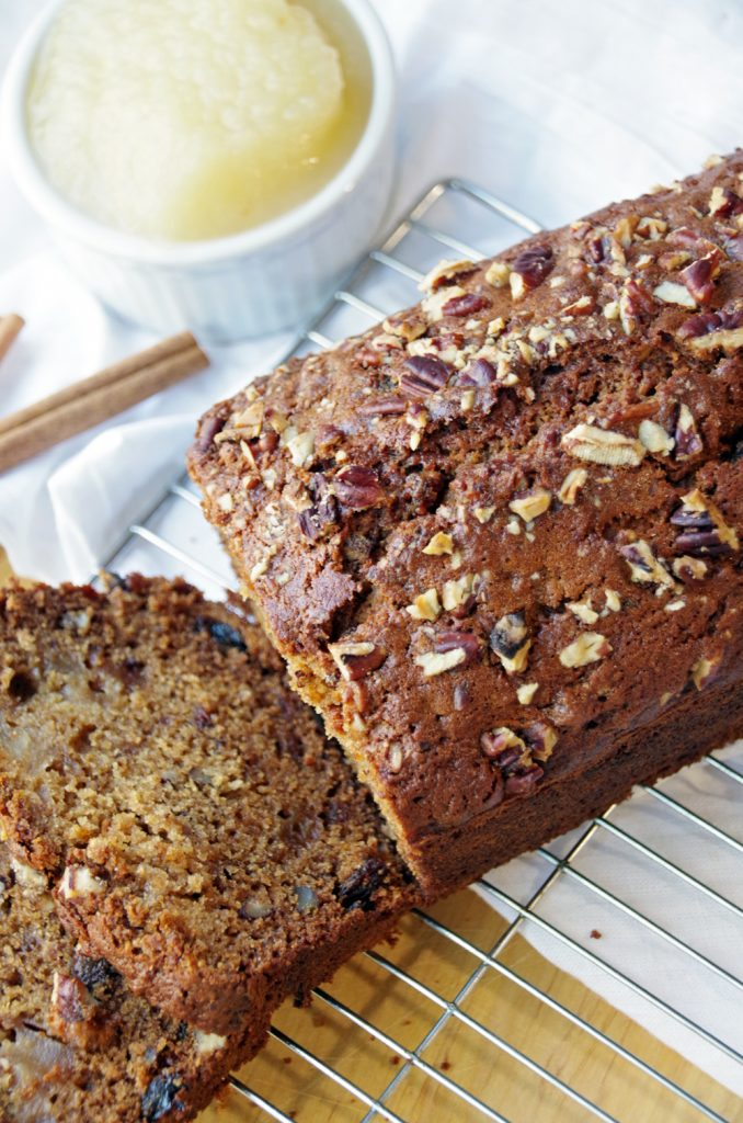 Applesauce Quick Bread Recipe and the Benefits of Healthy SnackingApplesauce Quick Bread Recipe and the Benefits of Healthy Snacking